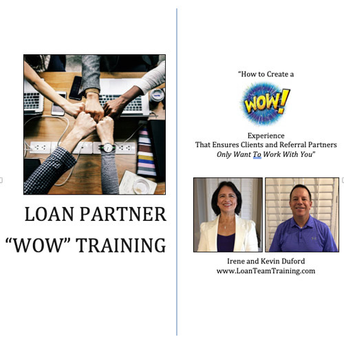 About Loan Partner Training